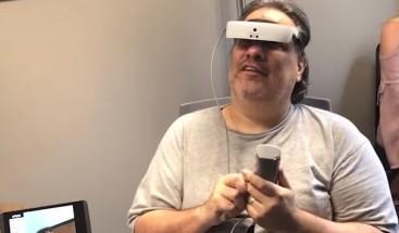 Captan el momento en que un hombre vuelve a ver tras casi dos décadas de ceguera