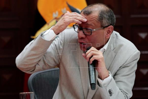 Justicia ecuatoriana dicta prisión preventiva contra el vicepresidente Glas