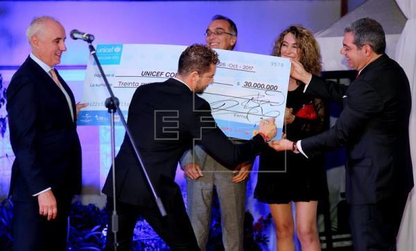 David Bisbal donará recaudación de concierto en Bogotá para niñez colombiana