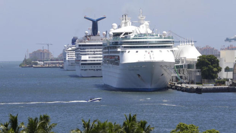 Muere una niña de ocho años que cayó de un crucero en el puerto de Miami