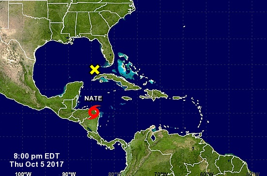 Sube a 11 cifra de muertos en Nicaragua por lluvias a causa de tormenta Nate