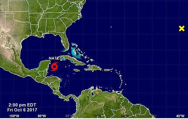 Nate toma fuerza rumbo a México tras dejar al menos 23 muertos en A.Central