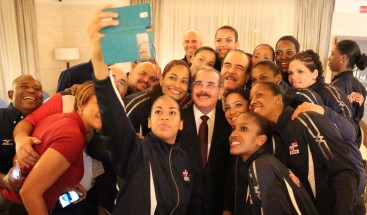 Presidente felicita a las Reinas del Caribe por ganar la medalla de oro en Campeonato Clasificatorio Norceca