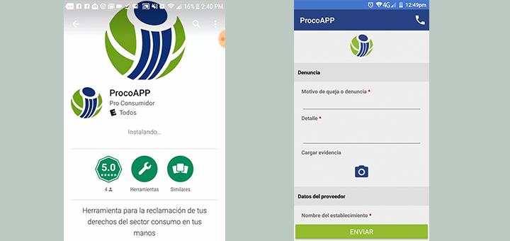 Pro Consumidor presenta aplicación móvil que permite a las personas realizar denuncias al instante