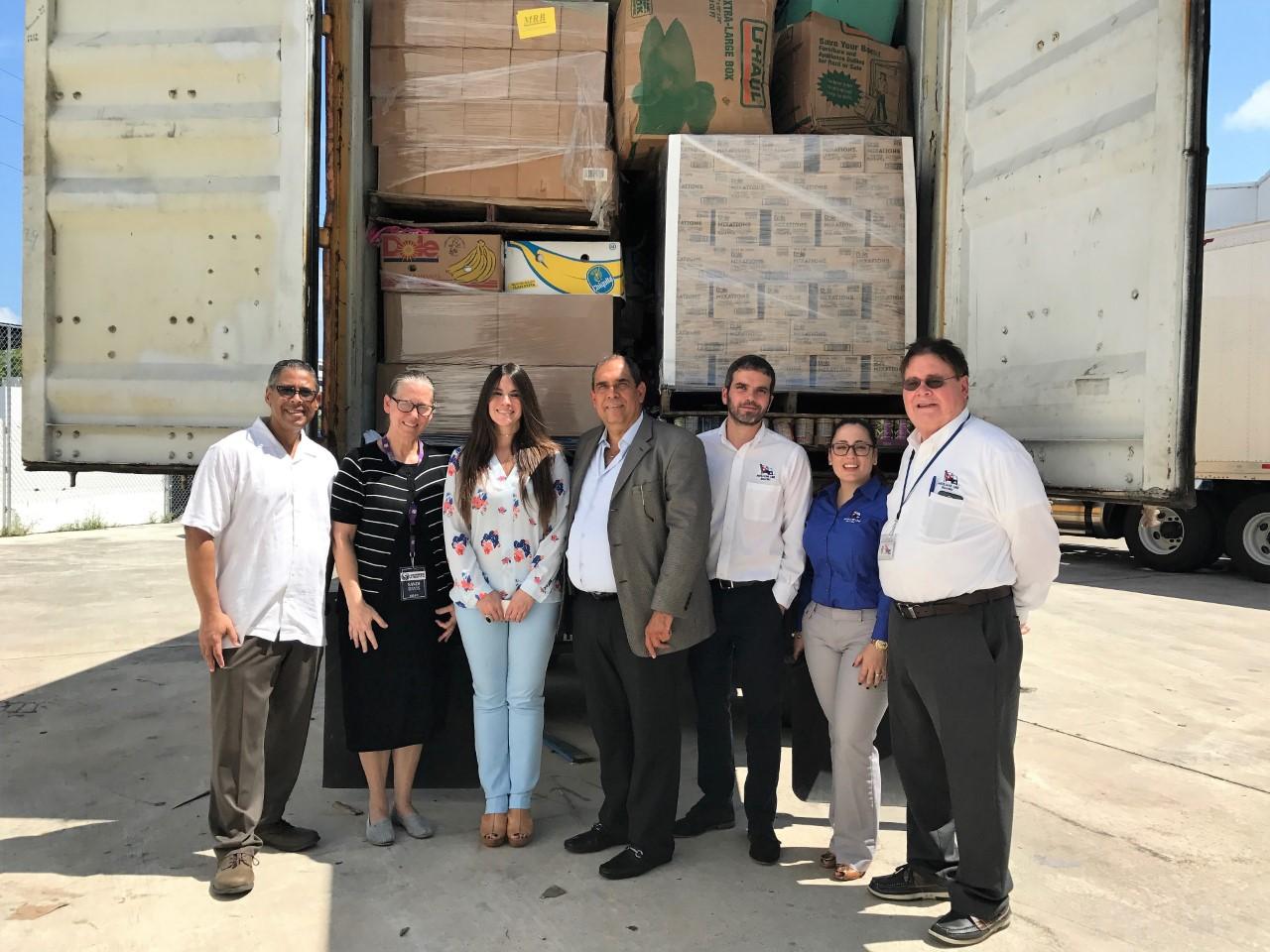 Alcaldía de Miami y Consulado RD envían contenedor con ayuda a damnificados