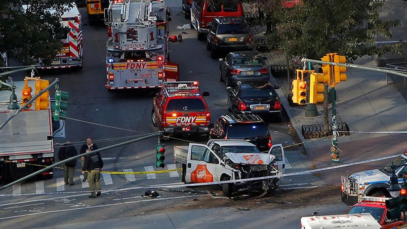 Un tiroteo y un atropello en el centro de Manhattan deja varios muertos y heridos