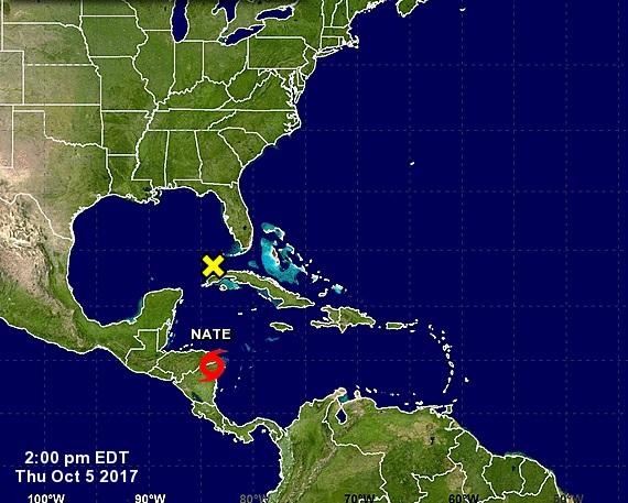 La tormenta Nate alcanza a Nicaragua y deja varios muertos en Centroamérica