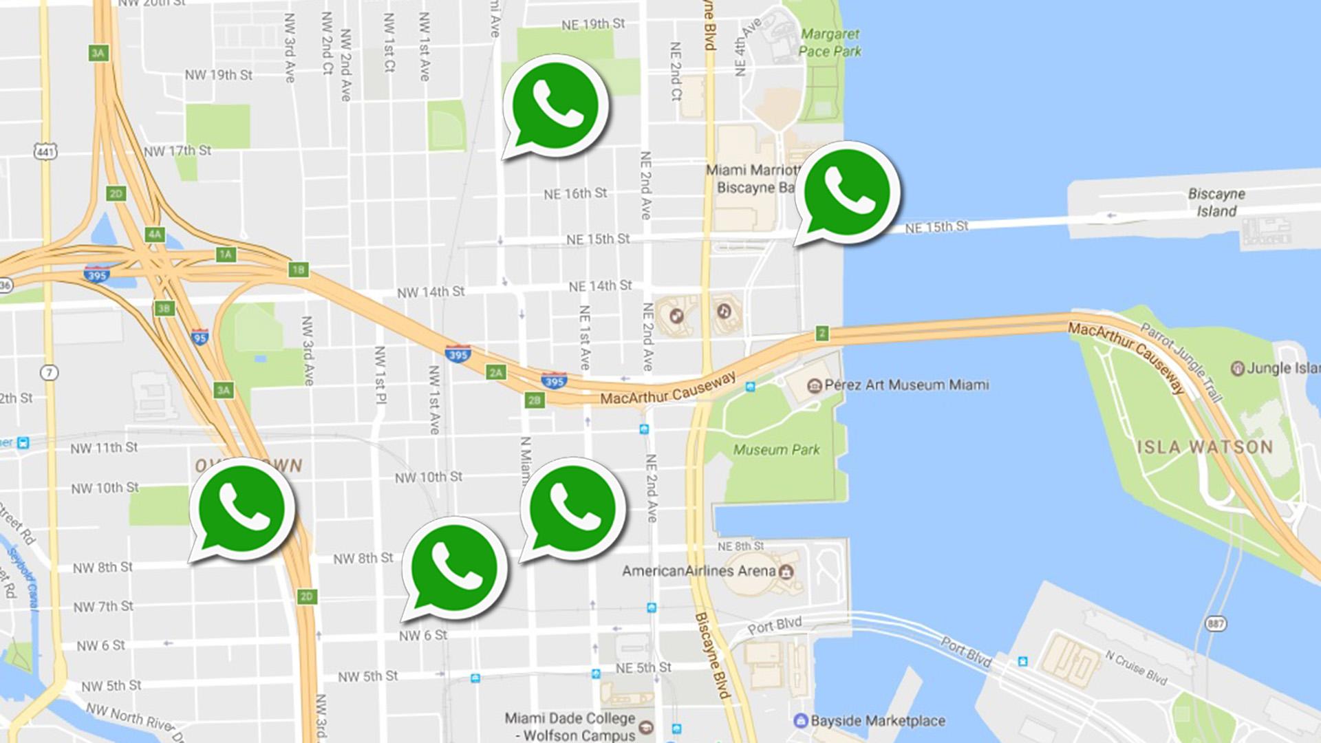 Actualización de WhatsApp que permite compartir ubicación crea controversia