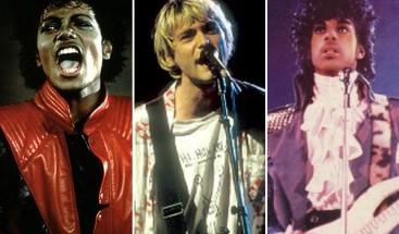 Subastan en Los Ángeles objetos de Nirvana, Michael Jackson y Prince