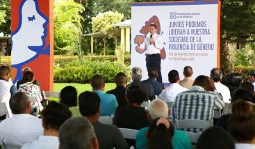 Procurador implementa acciones de prevención de la violencia de género en provincia Hermanas Mirabal