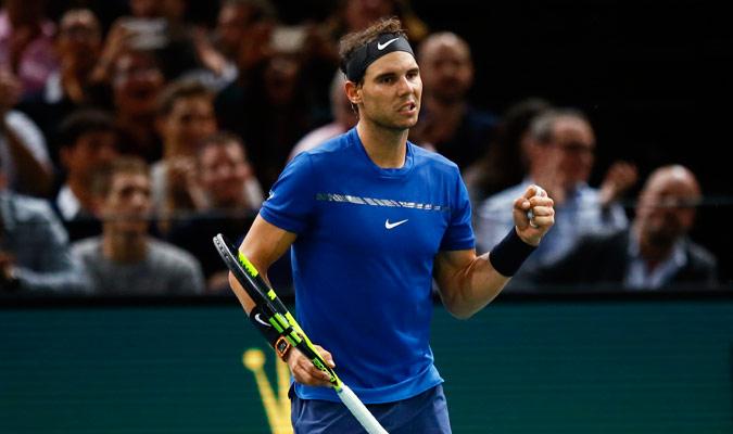 Nadal debutará el lunes contra Goffin en las finales del ATP de Londres