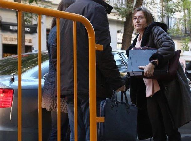 Supremo español firma orden de libertad de presidenta del parlamento catalán