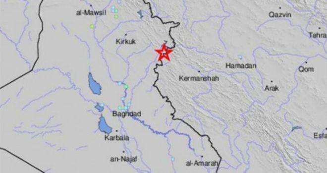 Al menos dos muertos por un terremoto en ciudad iraní fronteriza con Irak