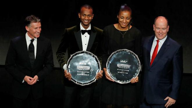 Barshim y Thiam, mejores atletas mundiales del año