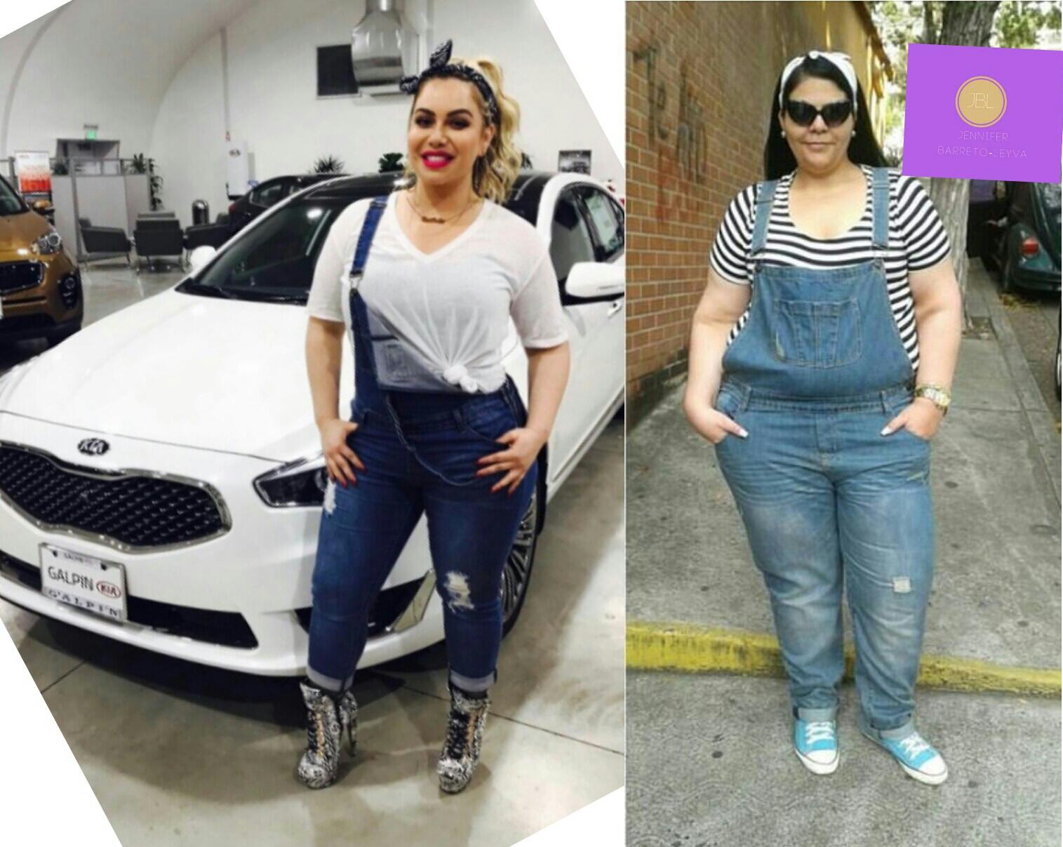 Modelo plus se hace viral recreando moda de famosas