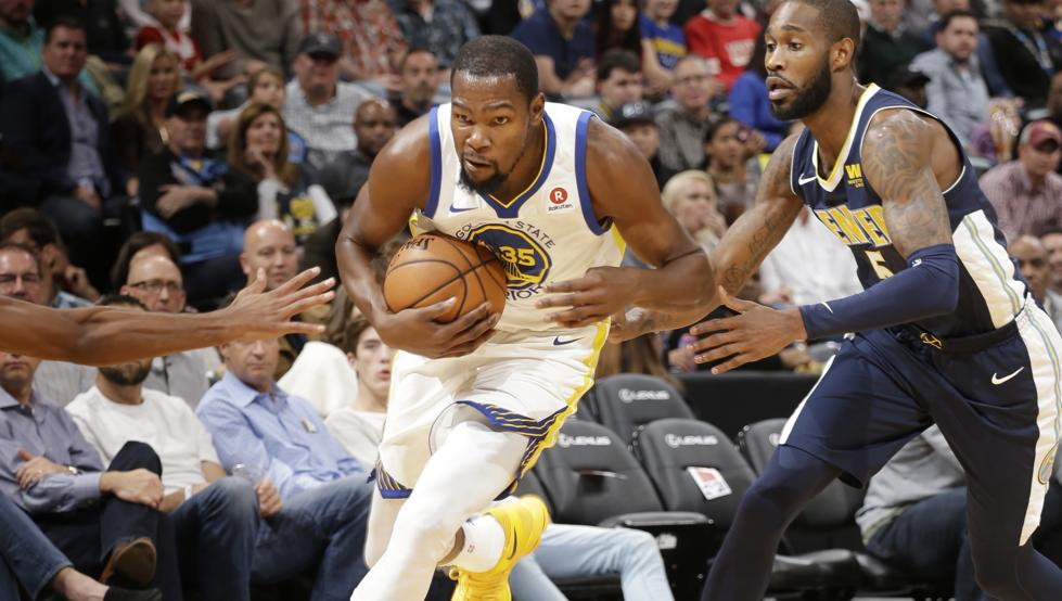 108-127. Durant y Curry se combinan en el triunfo de los Warriors