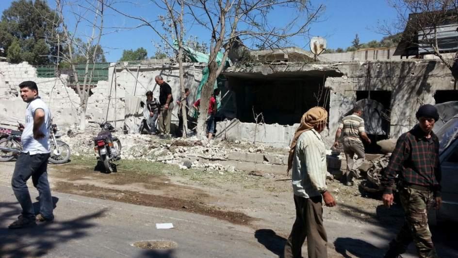 Mueren cuatro niños por la explosión de un proyectil en el norte de Siria