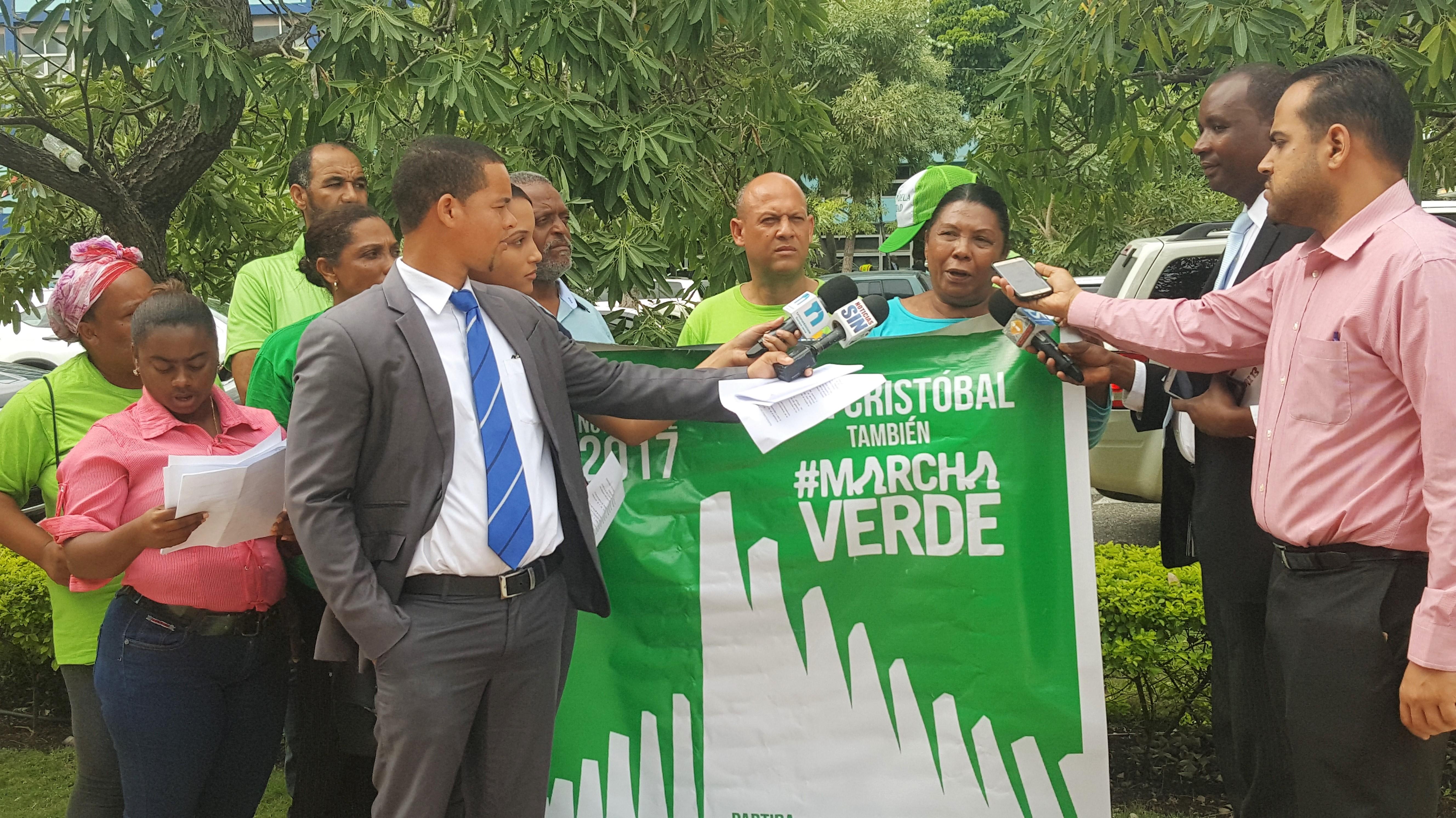 Marcha Verde se movilizará simultáneamente en San Cristóbal y Mao este domingo 5 de noviembre