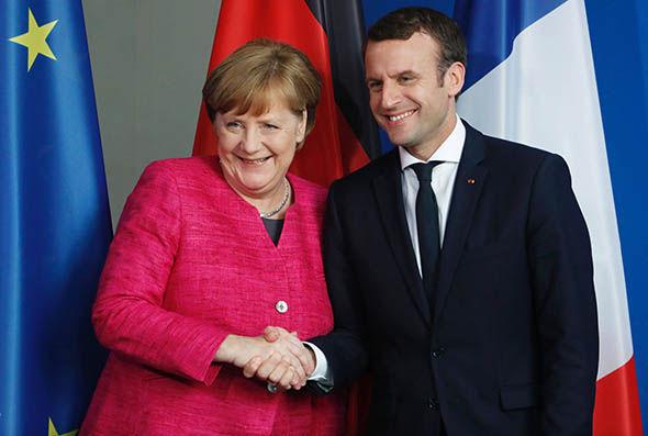 ONG exigen a Merkel y Macron liderazgo en la lucha contra el cambio climático