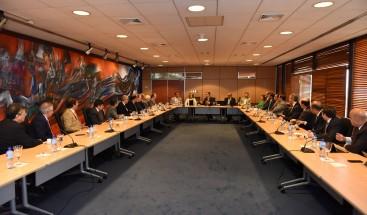 Banco Central y ABA pasan revista a evolución del crédito