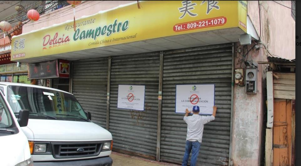 Pro Consumidor cierra restaurante y otros negocios de venta de comida