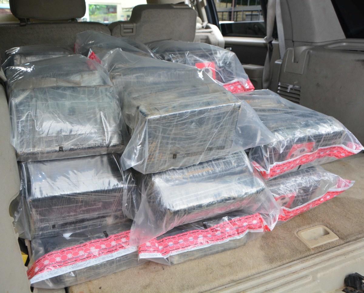 DNCD decomisa 150 paquetes de cocaína en Samaná