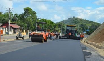 MOPC anuncia en dos meses estará concluido un tramo de la carretera Navarrete-Puerto Plata