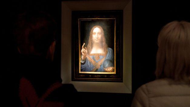 Subastan un cuadro de Da Vinci en Nueva York por 450,3 millones de dólares