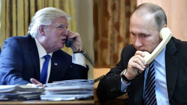 Trump y Putin hablaron más de una hora de Siria, terrorismo y Corea del Norte