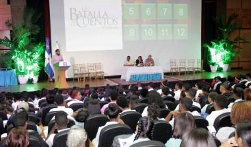Vicepresidencia premia ganadores concurso Batalla de los Cuentos