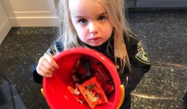 Hijo de Trump dice que enseñará a su hija el socialismo quitándole caramelos