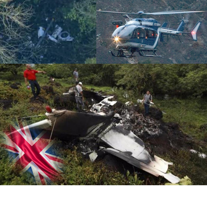 Varias víctimas al chocar una avioneta y un helicóptero en Inglaterra