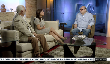Víctor Víctor conversa con Karina Arias, sobre la 4ta Feria del Libro de Historia Dominicana
