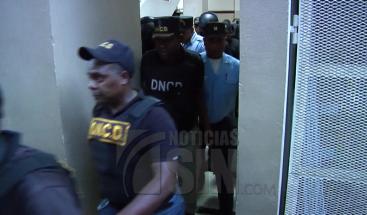 Dictan tres meses de prisión preventiva contra miembros de dotación de DNCD de San Juan