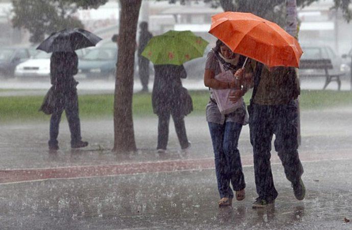 Ocurrirán lluvias aisladas sobre algunas provincias del país