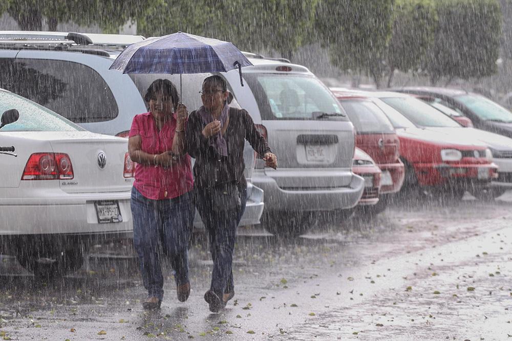 Continuarán las lluvias por vaguada asociada a un sistema frontal