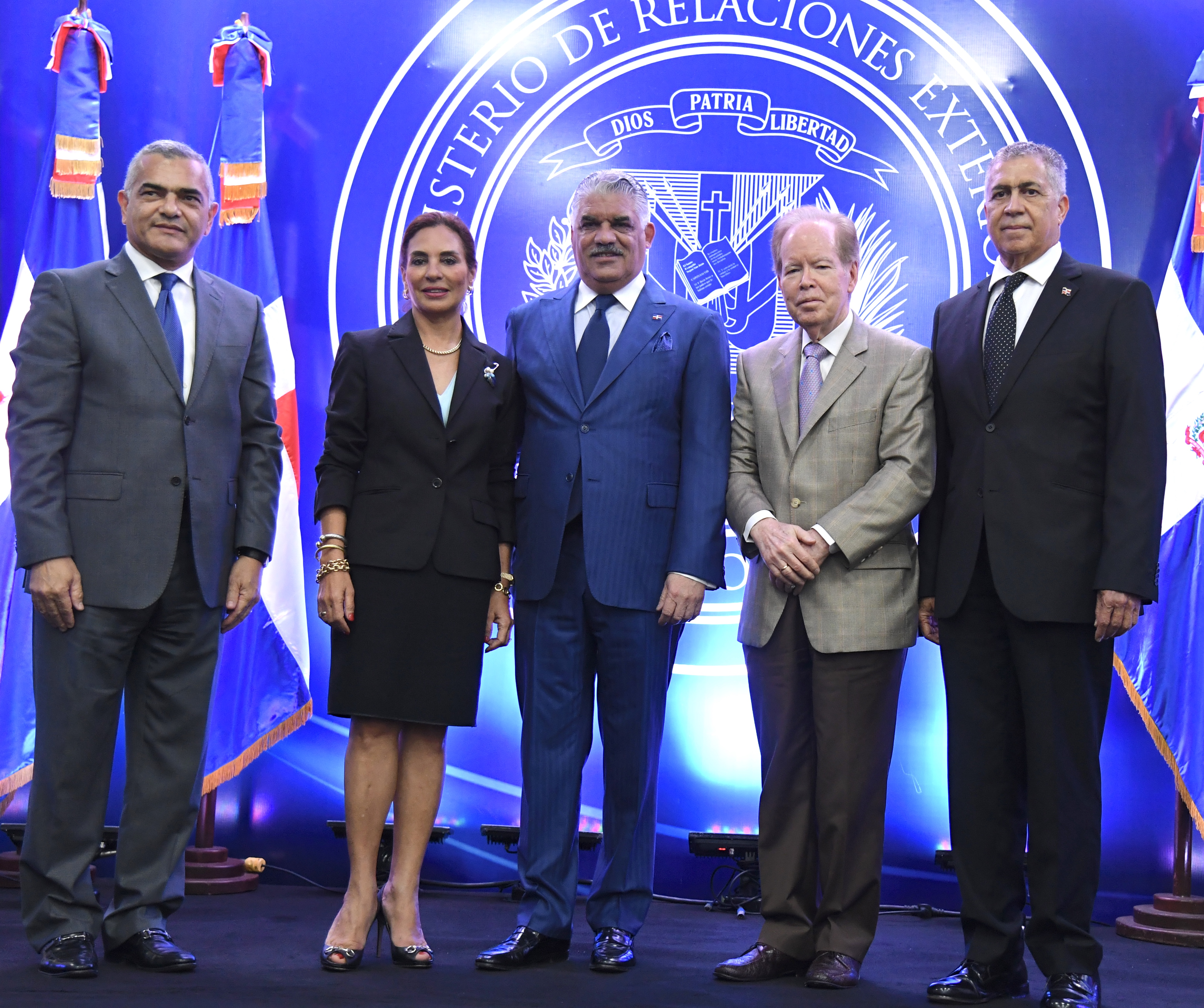 Cancillerjuramenta Comisión Permanente Premio al Emigrante Oscar de la Renta
