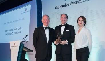 The Banker premia a Banreservas como Banco del Año 2017