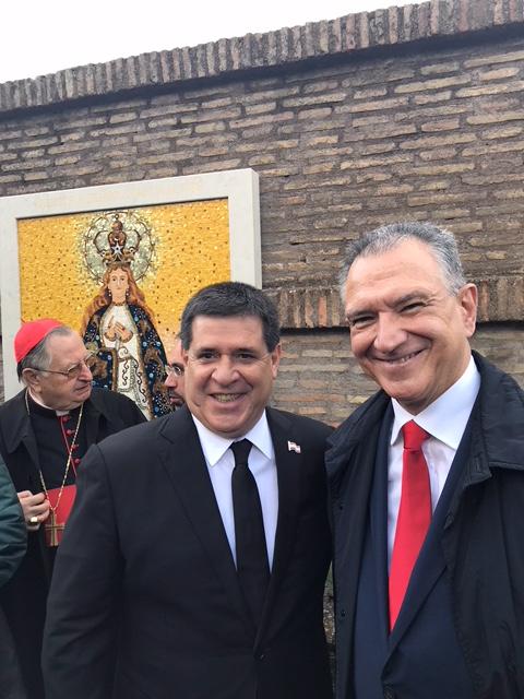 Nuestra Señora de La Altagracia en el Vaticano y el Mundo
