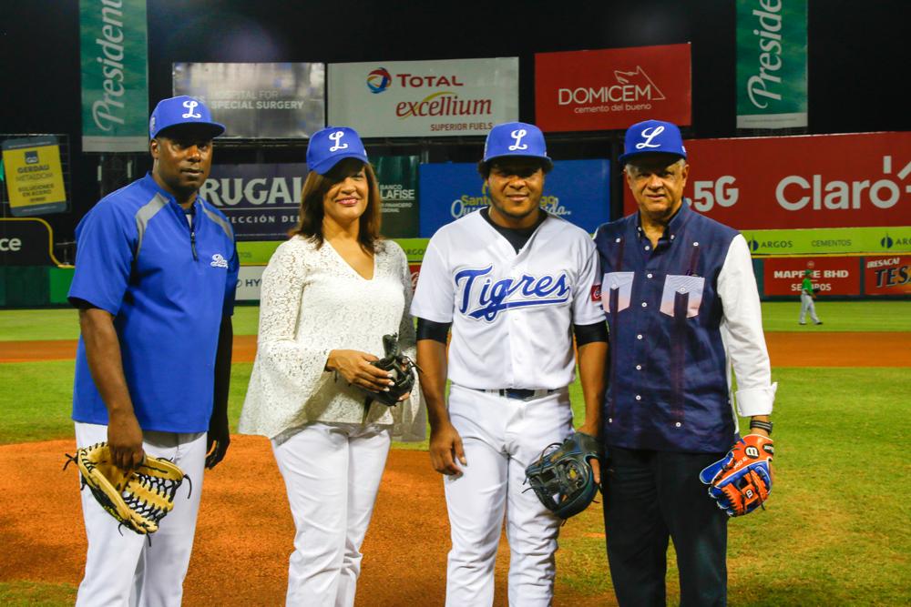 Tigres del Licey rinden homenaje póstumo a Roberto Eduardo Mata López