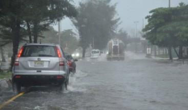 Onamet: Continuarán los aguaceros y tronadas debido a vaguada