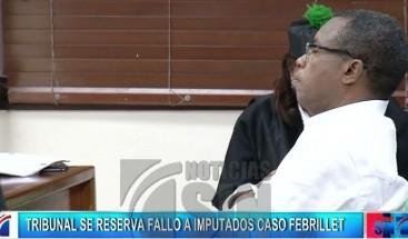 Corte de Apelación se reserva fallo interpuesto por Blas Peralta