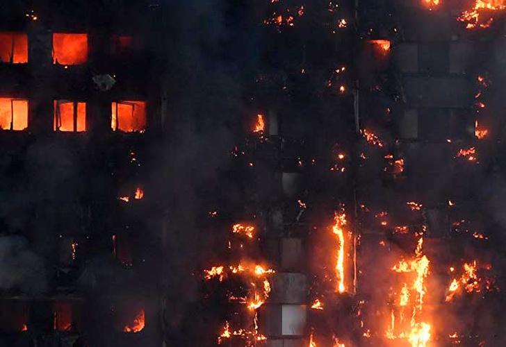 La Policía cifra en 71 los muertos en el incendio de un edificio en Londres