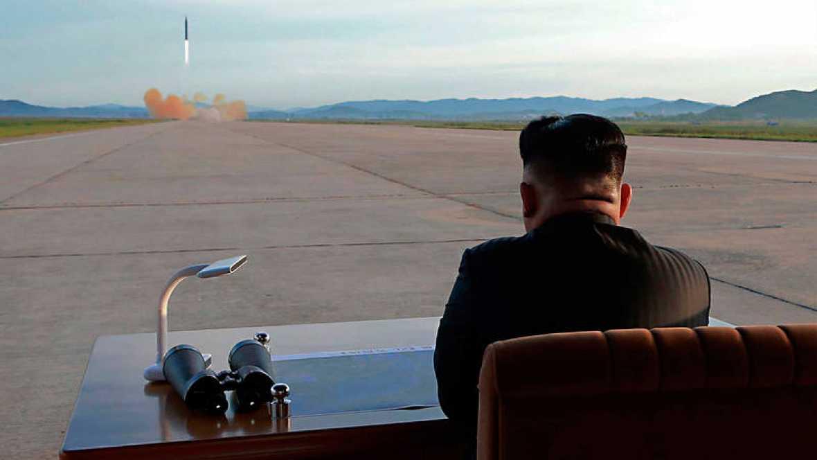 Japón, Corea del Sur y EE.UU. piden reunión en la ONU por el misil norcoreano