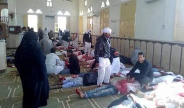 Al menos 235 muertos en ataque terrorista en mezquita en Sinaí egipcio