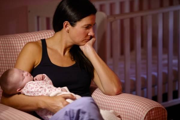Cinco causas de estrés en el postparto