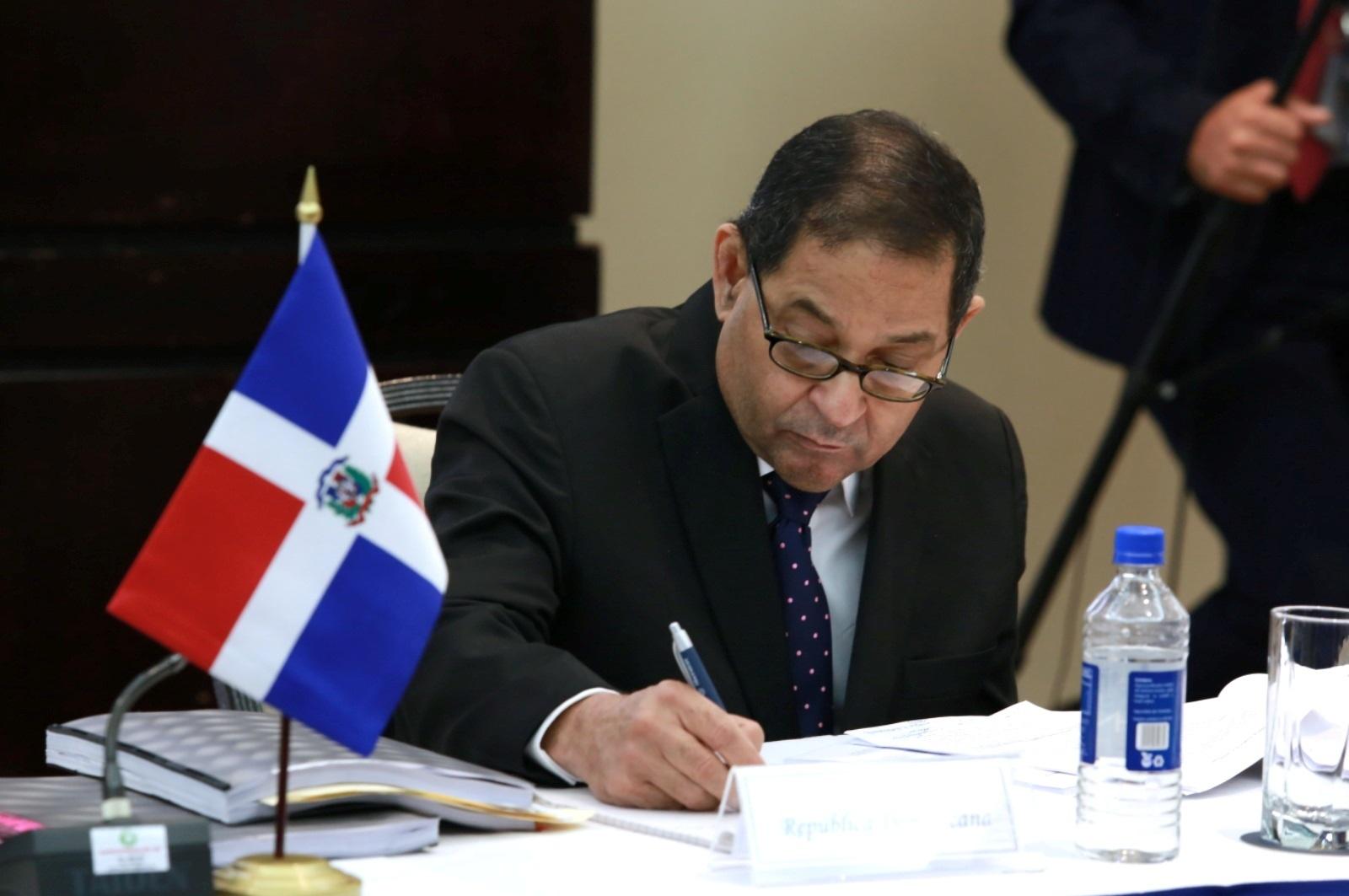 Presidente del PJ participa en Reunión Extraordinaria del Consejo Judicial Centroamericano y del Caribe