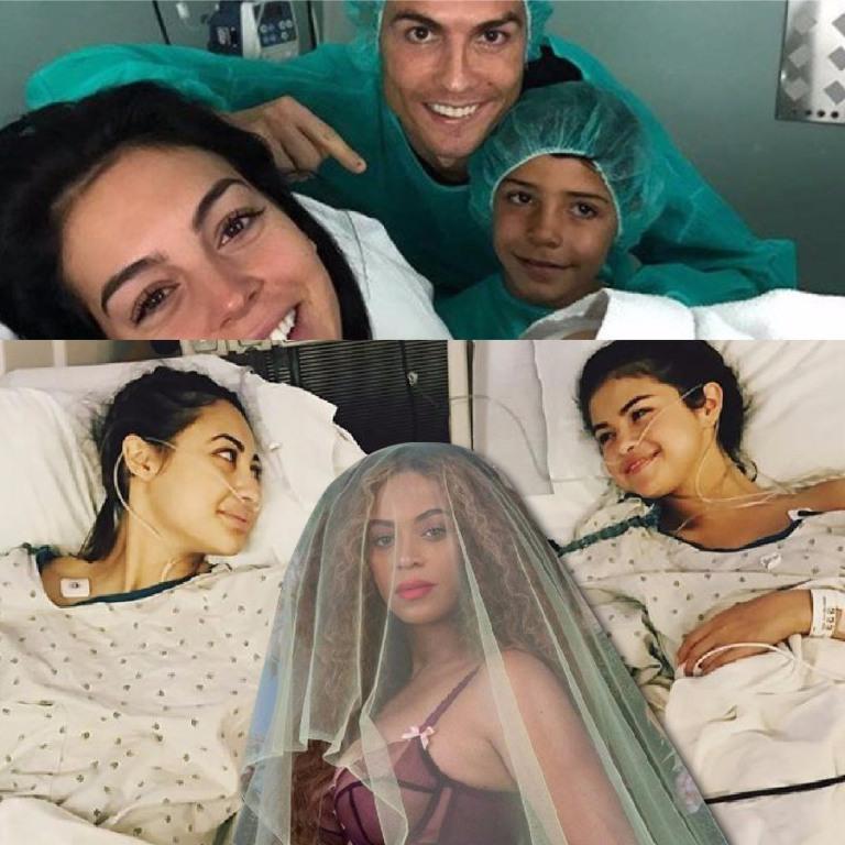 Beyoncé, Ronaldo y Selena Gómez copan fotos con más
