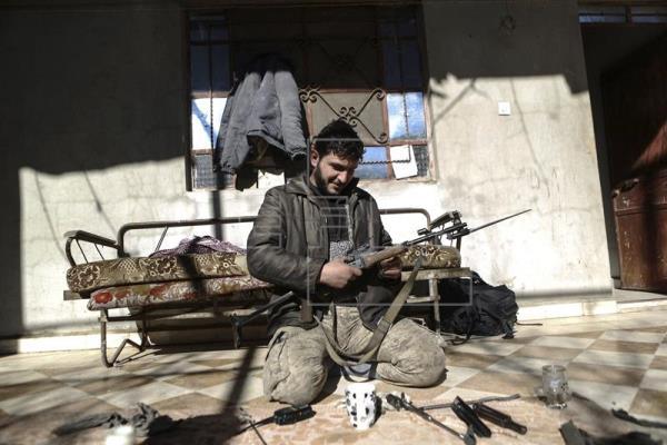 Al menos 34 muertos por bombardeos rusos en el noreste de Siria