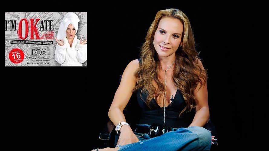 Kate del Castillo estrenará el cabaret